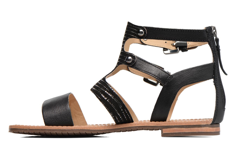 Sandali e scarpe aperte Geox D SOZY G D722CG Nero immagine frontale