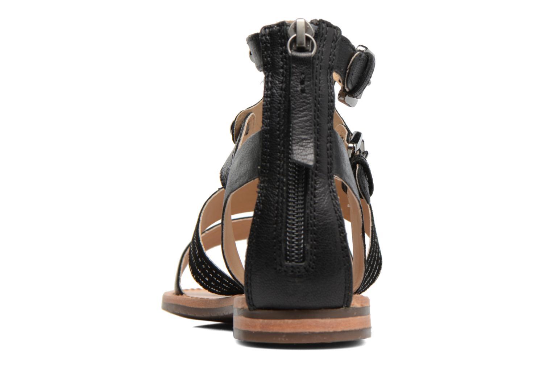 Sandales et nu-pieds Geox D SOZY G D722CG Noir vue droite