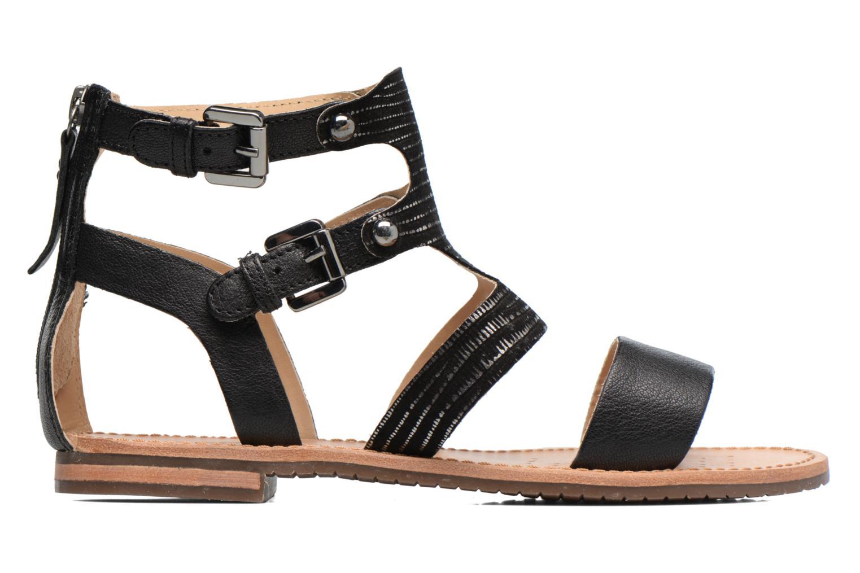 Sandals Geox D SOZY G D722CG Black back view