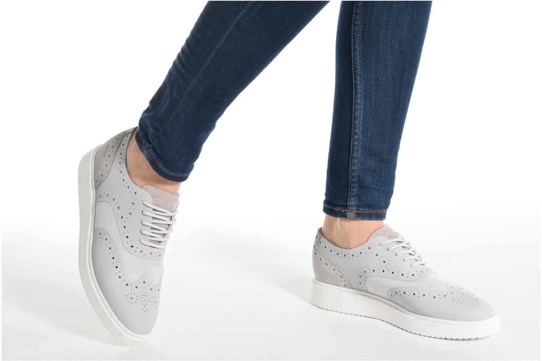 Chaussures à lacets Geox D THYMAR B D724BB Rose vue bas / vue portée sac