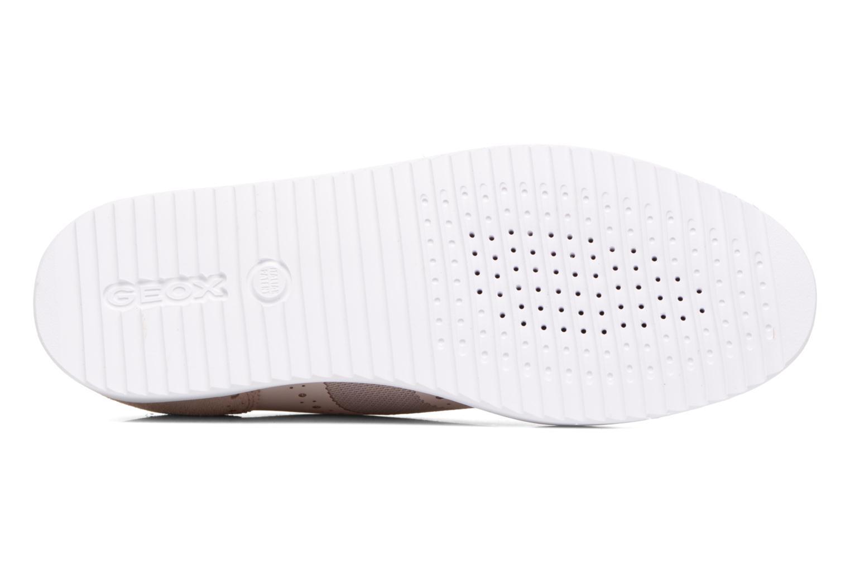 Chaussures à lacets Geox D THYMAR B D724BB Rose vue haut