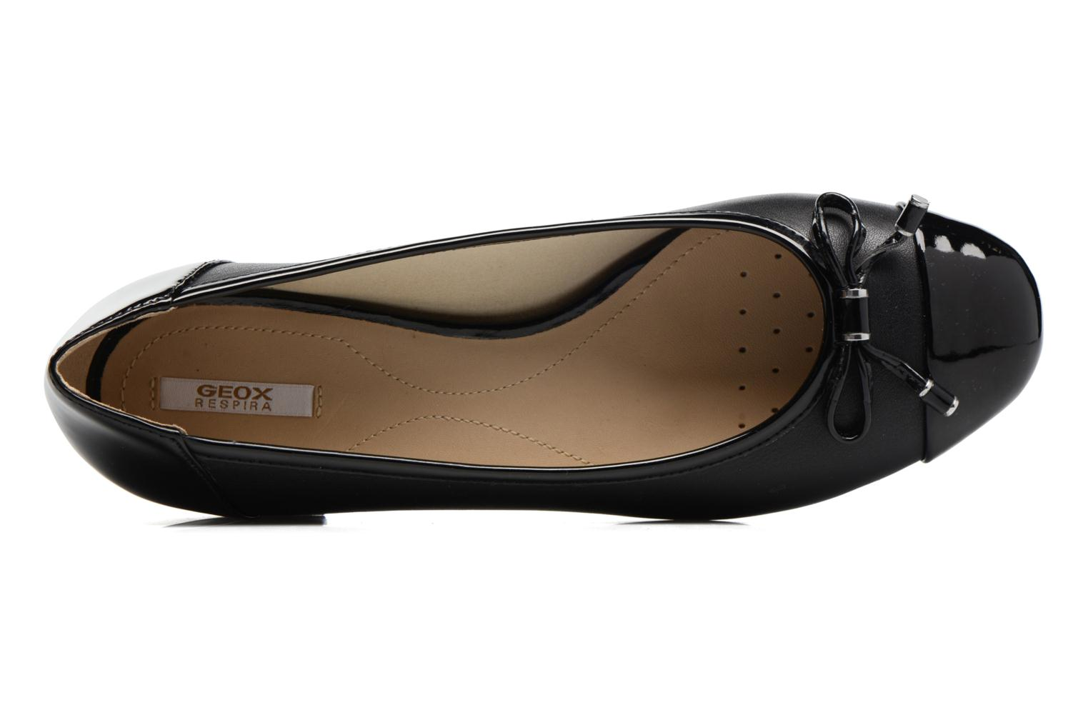 Ballet pumps Geox D WISTREY F D724GF Black view from the left