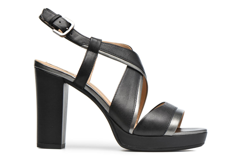 Sandales et nu-pieds Geox D MAUVELLE D D724LD Noir vue derrière