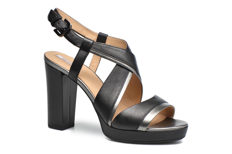 Grandes descuentos últimos zapatos Geox D MAUVELLE D D724LD (Negro) - Sandalias Descuento