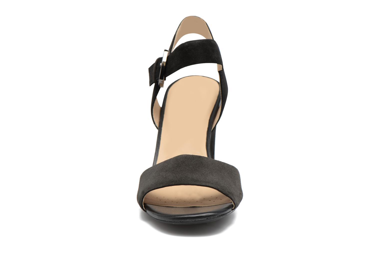 Sandales et nu-pieds Geox D MARILYSE B D724UB Noir vue portées chaussures