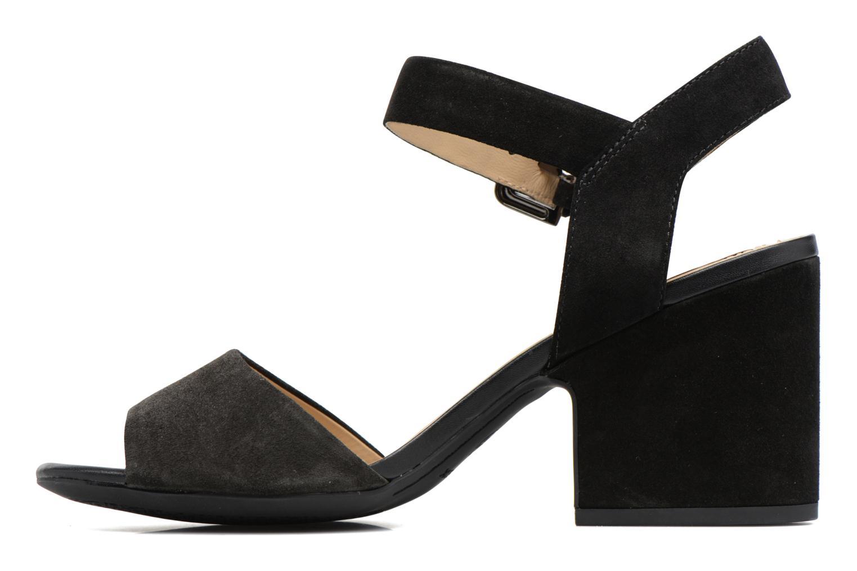 Sandales et nu-pieds Geox D MARILYSE B D724UB Noir vue face