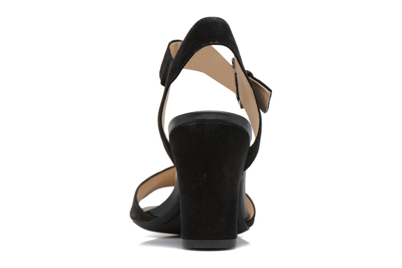 Sandales et nu-pieds Geox D MARILYSE B D724UB Noir vue droite