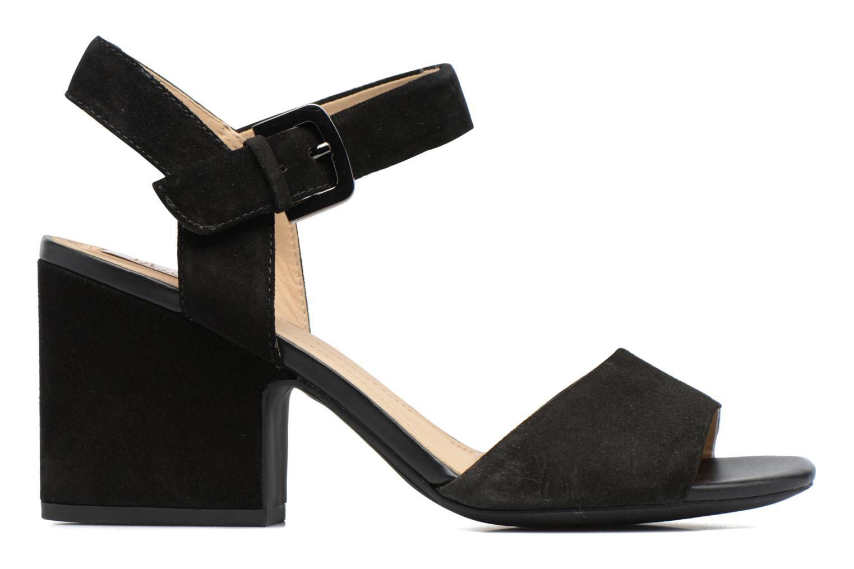 Sandales et nu-pieds Geox D MARILYSE B D724UB Noir vue derrière