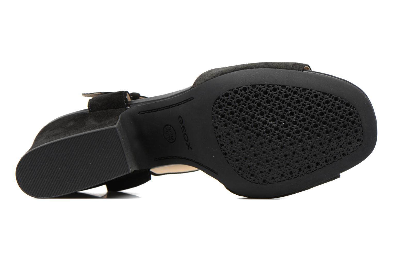Sandales et nu-pieds Geox D MARILYSE B D724UB Noir vue haut