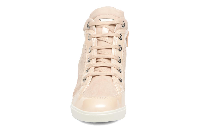 Sneakers Geox D ELENI C D7267C Guld og bronze se skoene på