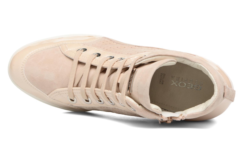 Sneakers Geox D ELENI C D7267C Guld og bronze se fra venstre
