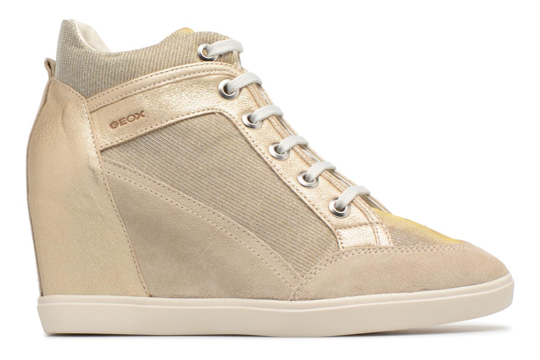 Sneaker Geox D ELENI C D7267C gold/bronze ansicht von hinten