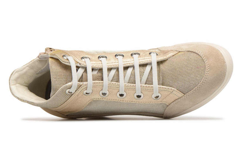 Sneaker Geox D ELENI C D7267C gold/bronze ansicht von links