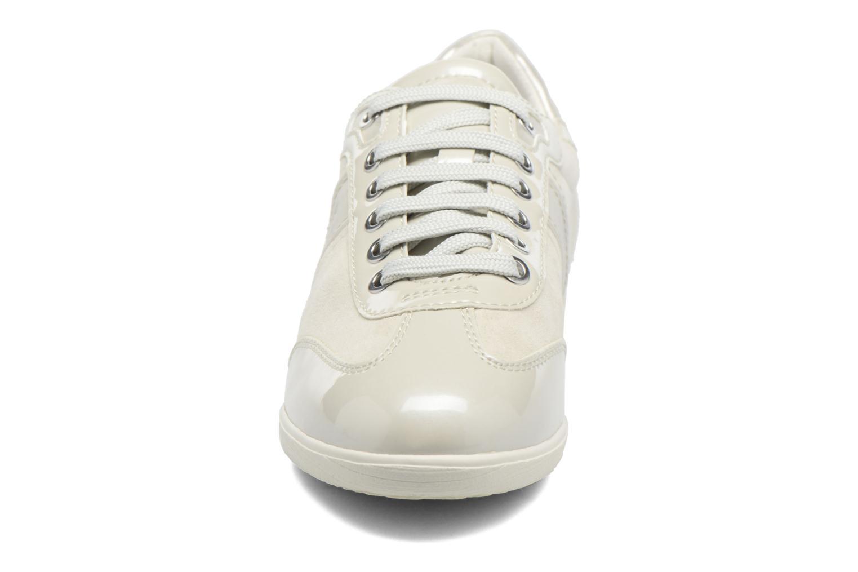 Baskets Geox D MYRIA A D7268A Blanc vue portées chaussures