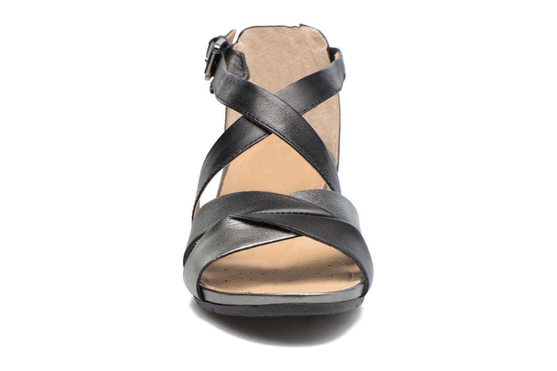 Sandales et nu-pieds Geox D FORMOSA A D7293A Noir vue portées chaussures