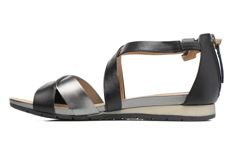 Sandales et nu-pieds Geox D FORMOSA A D7293A Noir vue face