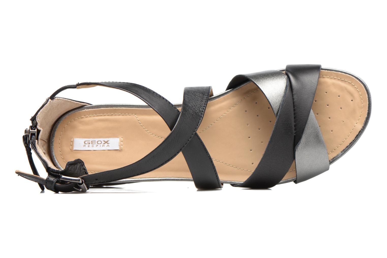 Sandales et nu-pieds Geox D FORMOSA A D7293A Noir vue gauche
