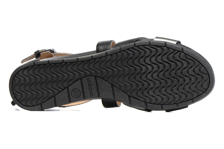 Sandales et nu-pieds Geox D FORMOSA A D7293A Noir vue haut