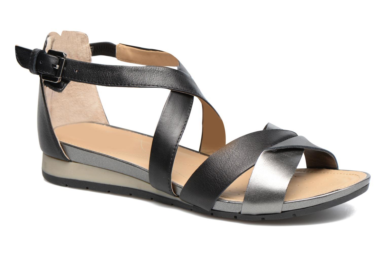 Sandales et nu-pieds Geox D FORMOSA A D7293A Noir vue détail/paire
