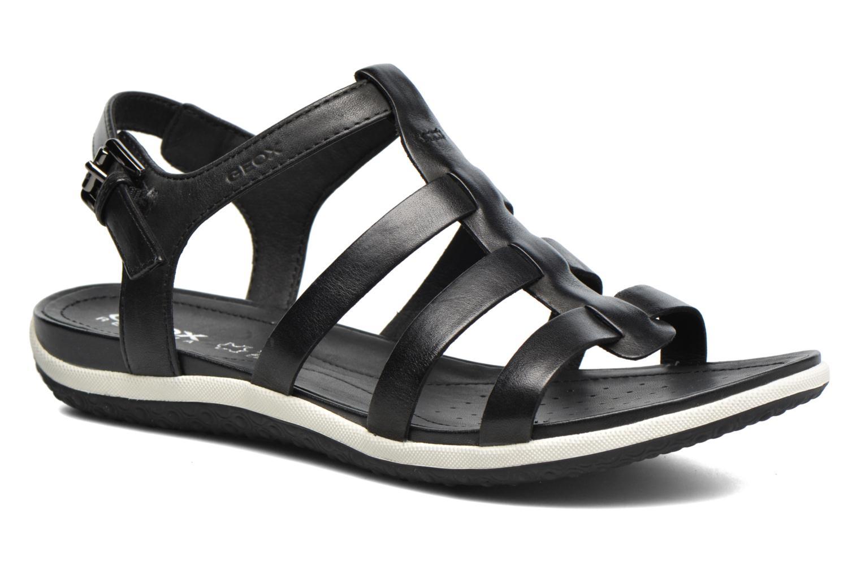 Geox D SAND.VEGA A D72R6A (Noir) - Sandales et nu-pieds chez Sarenza (281512)