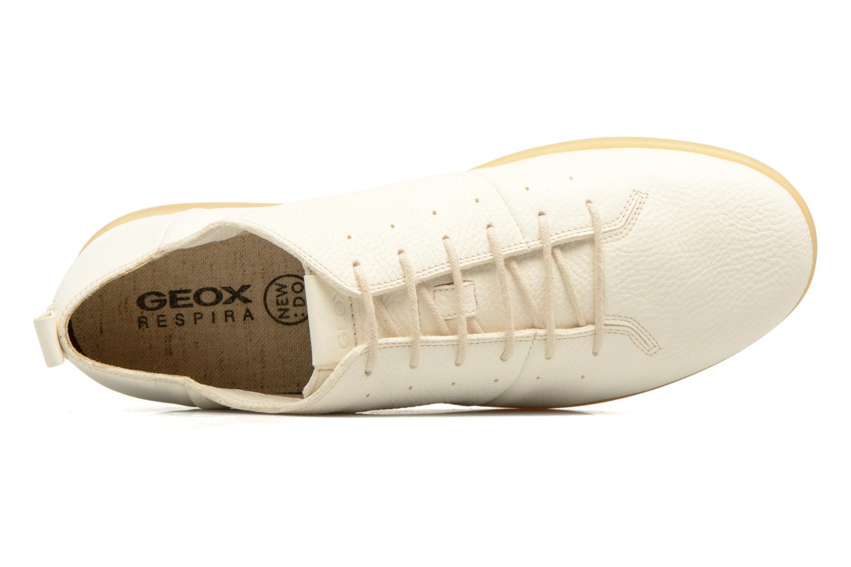 Baskets Geox U NEW DO B U620QB Blanc vue gauche