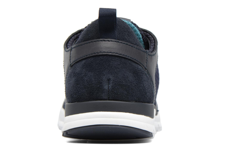Baskets Geox U CALAR B U722GB Bleu vue droite