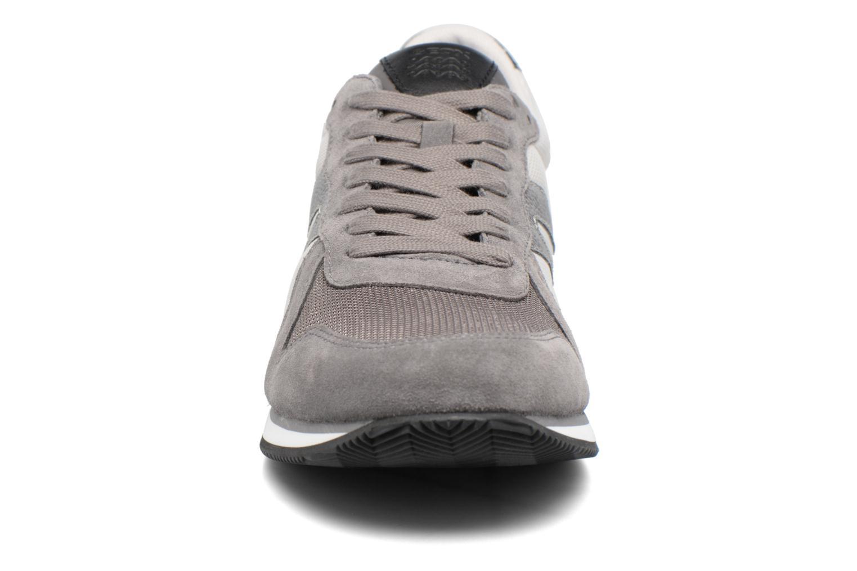 Baskets Geox U VINTO C U722LC Marron vue portées chaussures