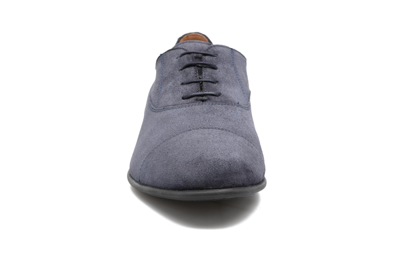 Chaussures à lacets Geox U WILBURG B U722SB Bleu vue portées chaussures