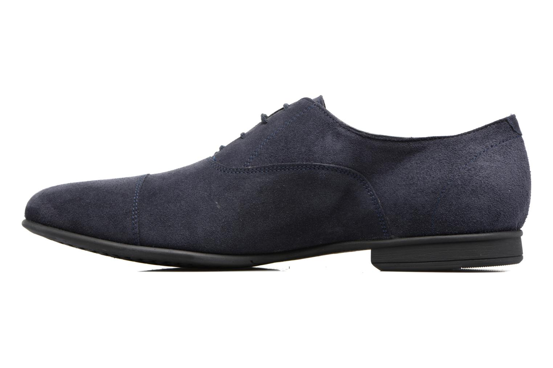 Chaussures à lacets Geox U WILBURG B U722SB Bleu vue face