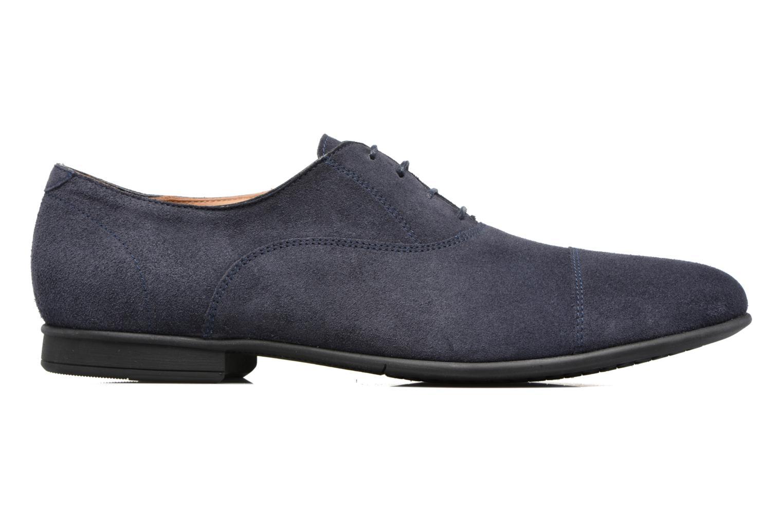 Chaussures à lacets Geox U WILBURG B U722SB Bleu vue derrière