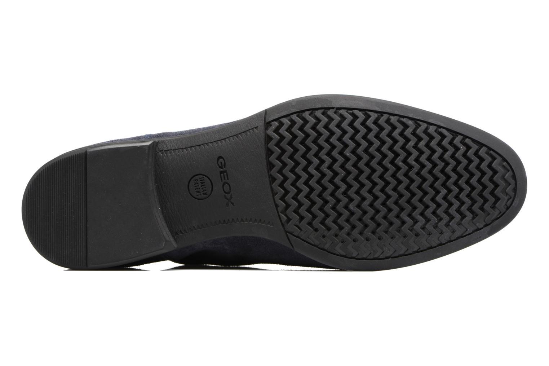 Chaussures à lacets Geox U WILBURG B U722SB Bleu vue haut