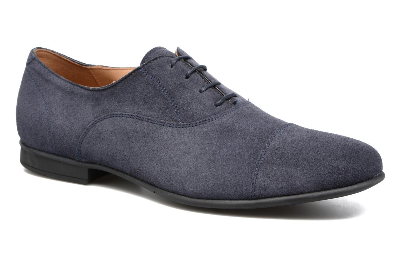 Chaussures à lacets Geox U WILBURG B U722SB Bleu vue détail/paire