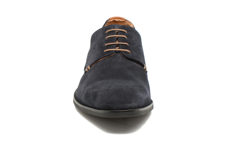 Chaussures à lacets Geox U NEW LIFE A U72P4A Bleu vue portées chaussures