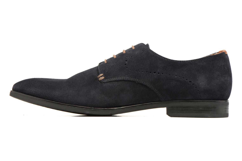 Chaussures à lacets Geox U NEW LIFE A U72P4A Bleu vue face