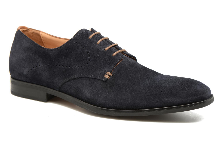 Chaussures à lacets Geox U NEW LIFE A U72P4A Bleu vue détail/paire
