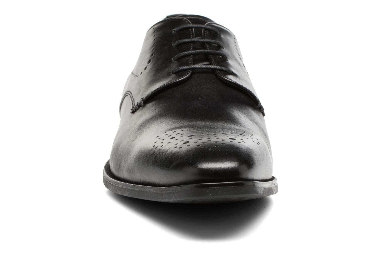 Chaussures à lacets Geox U NEW LIFE A U72P4A Noir vue portées chaussures