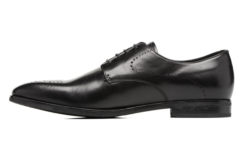Chaussures à lacets Geox U NEW LIFE A U72P4A Noir vue face