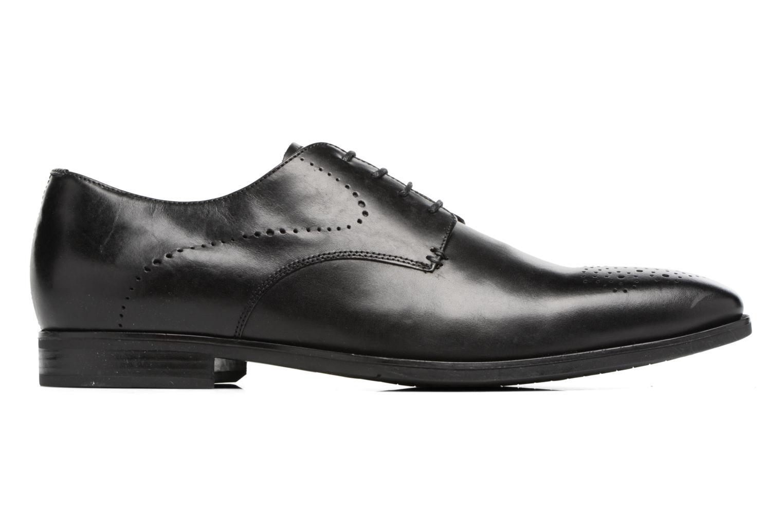 Chaussures à lacets Geox U NEW LIFE A U72P4A Noir vue derrière