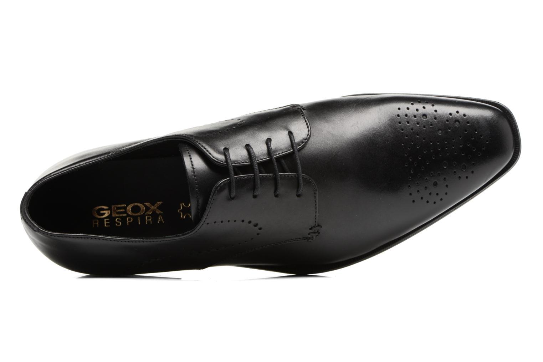 Chaussures à lacets Geox U NEW LIFE A U72P4A Noir vue gauche