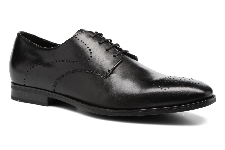 Chaussures à lacets Geox U NEW LIFE A U72P4A Noir vue détail/paire
