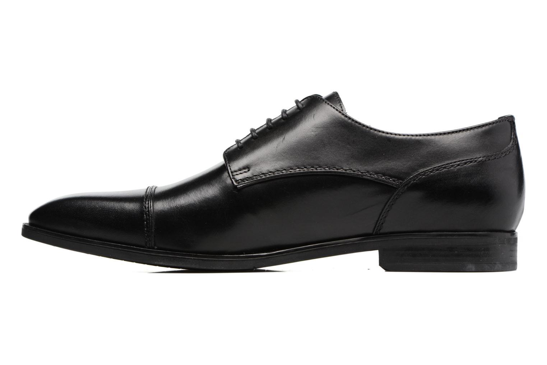 Chaussures à lacets Geox U NEW LIFE B U72P4B Noir vue face