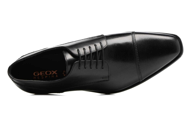 Chaussures à lacets Geox U NEW LIFE B U72P4B Noir vue gauche