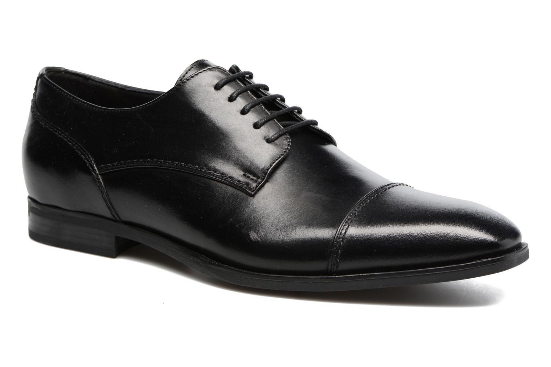 Chaussures à lacets Geox U NEW LIFE B U72P4B Noir vue détail/paire