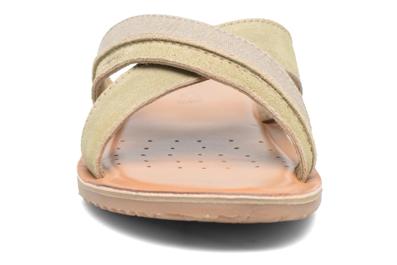 Sandales et nu-pieds Geox U ARTIE D U72V1D Beige vue portées chaussures