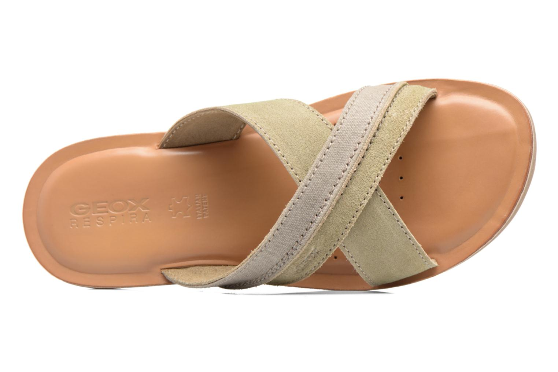 Sandales et nu-pieds Geox U ARTIE D U72V1D Beige vue gauche