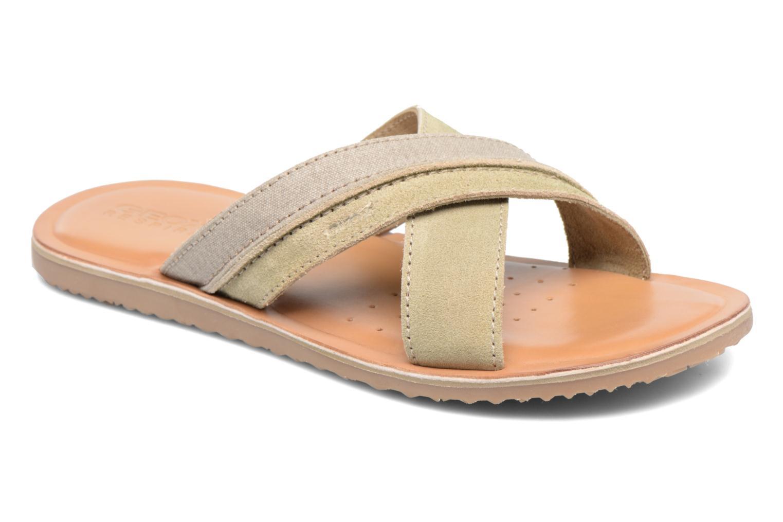 Sandales et nu-pieds Geox U ARTIE D U72V1D Beige vue détail/paire