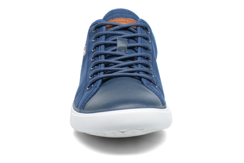 Baskets Geox U SMART C U72X2C Bleu vue portées chaussures