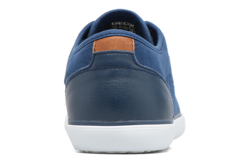 Baskets Geox U SMART C U72X2C Bleu vue droite
