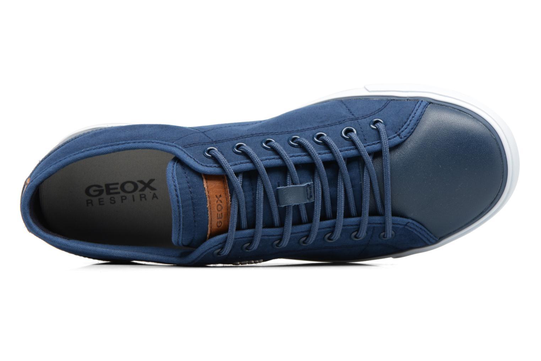 Baskets Geox U SMART C U72X2C Bleu vue gauche