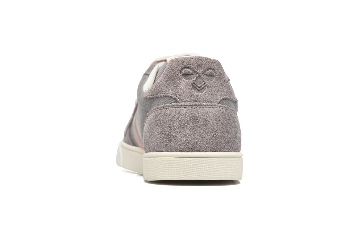 Baskets Hummel Ten Star Herringbone Low Gris vue droite